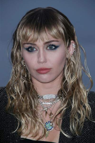 Miley Cyrus au défilé Saint Laurent à Malibu, jeudi 6 juin