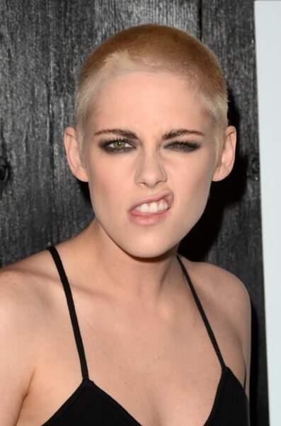 Kristen Stewart en mode grimace