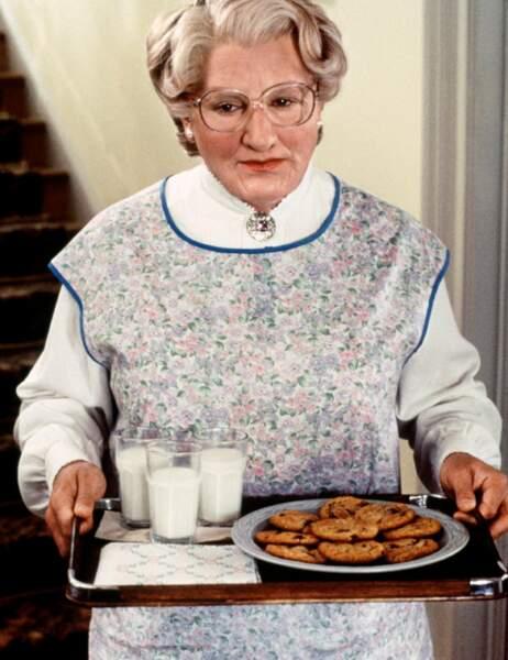 Son rôle de nounou dans Madame Doubtfire lui permet de décrocher le Golden Globe du meilleur acteur comique en 1994