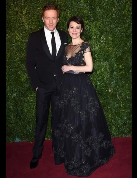 Damian Lewis, que les fans de Homeland ont reconnu, et son épouse Helen McCrory, nominée pour son rôle dans Médée