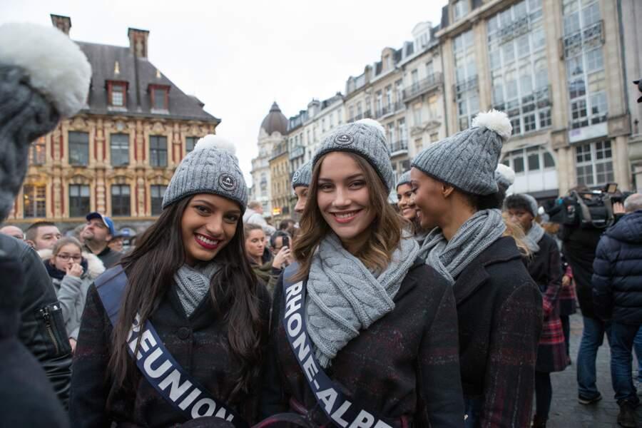 Les candidates de Miss France 2019 à Lille