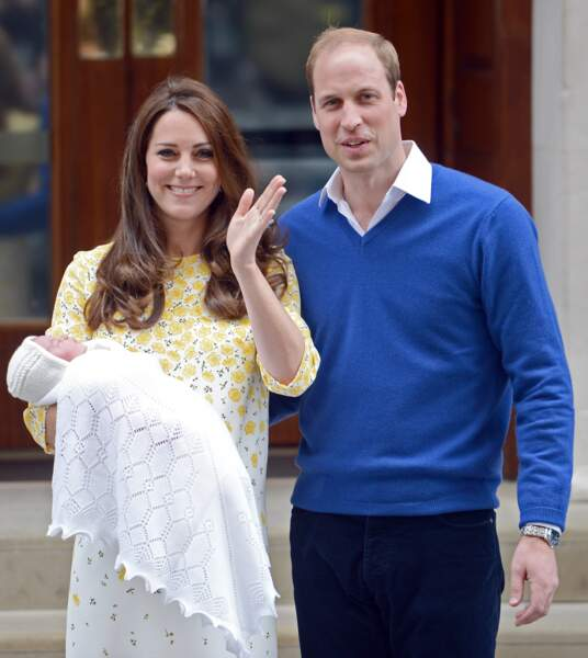 Présentation officielle de la princesse Charlotte, le 2 mai 2015