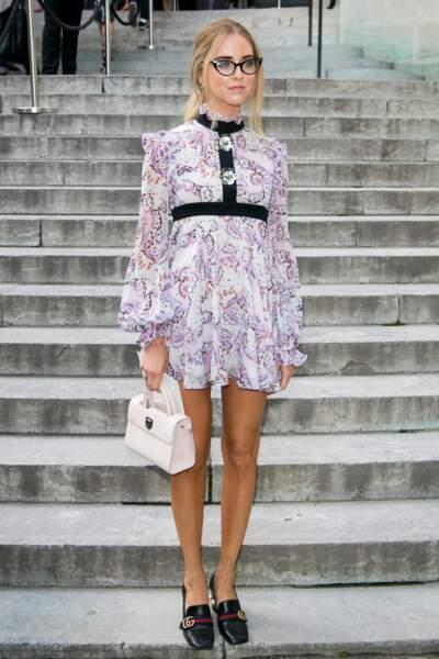 La styliste et mannequin Chiara Ferragni