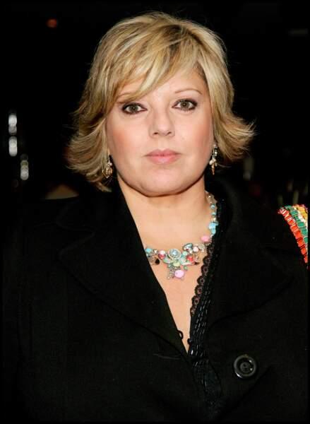 Maillon faible: Laurence Boccolini est deuxième du top 5 des stars ringardes féminines, avec 17,7% des votes.