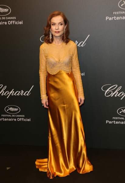 """Festival de Cannes 2017 : Isabelle Huppert vous accueille au Palais du Curry. """"Qu'est-ce que je vous sers ?"""""""