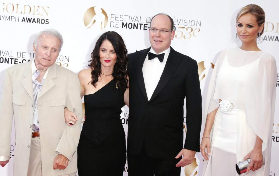 Robert Conrad, Robin Tunney, Le Prince Albert de Monaco, Adriana Karembeu