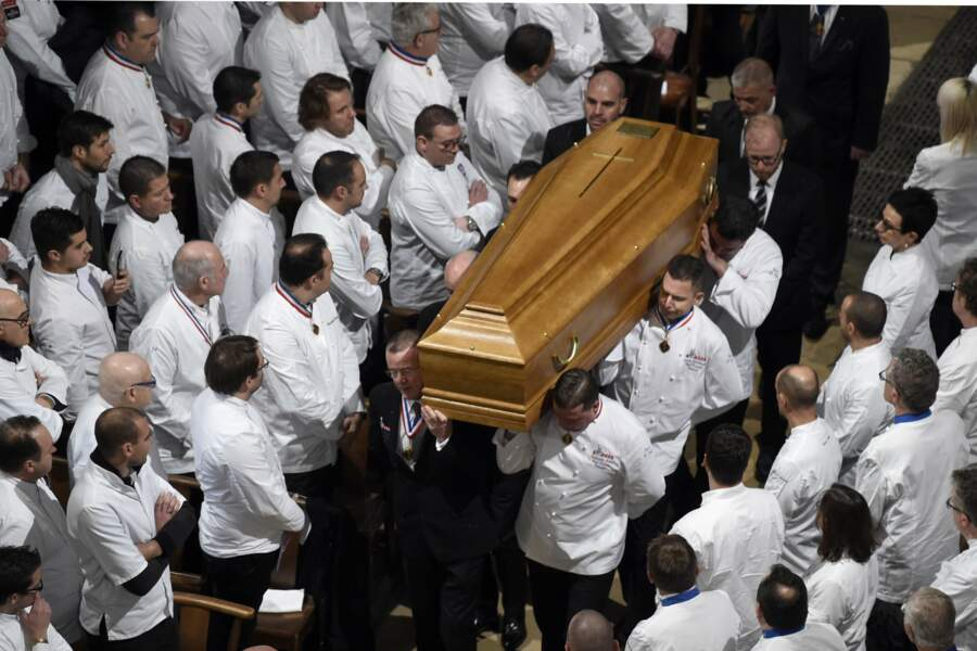 Le cercueil de Paul Bocuse