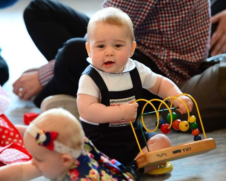 Anniversaire du Prince George - Et pleins de nouveaux jouets à essayer