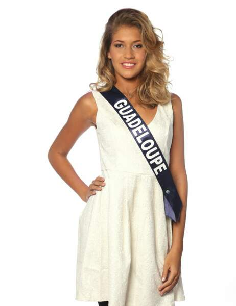 Miss Guadeloupe - Chloé Deher, 18 ans, 1m77