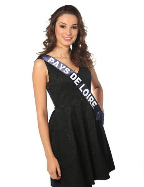Miss Pays de Loire - Marie Plessis, 21 ans, 1m73