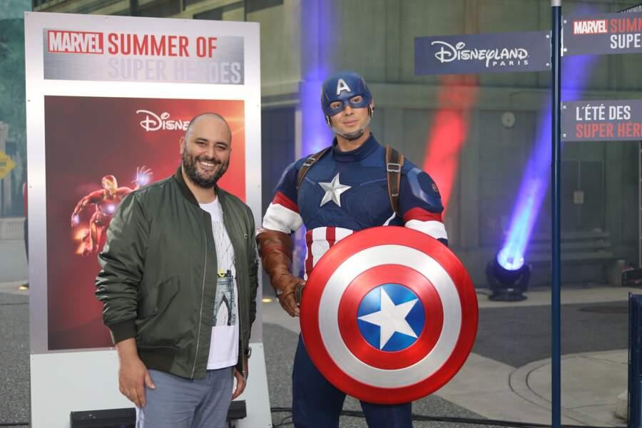 Eté Marvel Disneyland Paris - Jerôme Commandeur