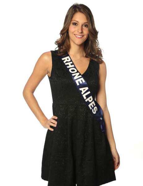 Miss Rhône-Alpes - Mylène Angelier, 22 ans, 1m77