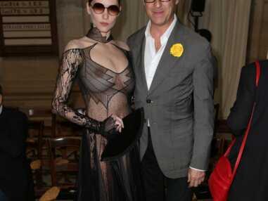 Fashion week : Hea Deville dans une robe transparente, Elodie Frégé et Laeticia Hallyday très élégantes