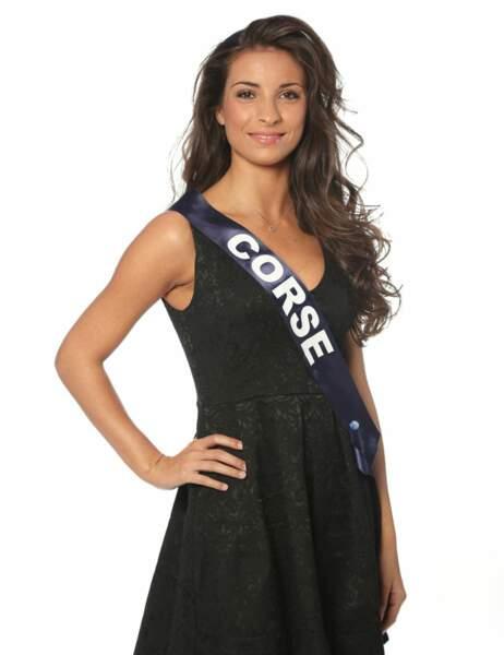 Miss Corse - Cécilia Napoli, 19 ans, 1m71