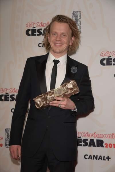 """Alex Lutz a été récompensé par le César du Meilleur acteur pour sa performance dans le faux documentaire """"Guy"""""""