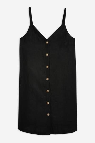 Robe boutonnée, Topshop, 40 euros