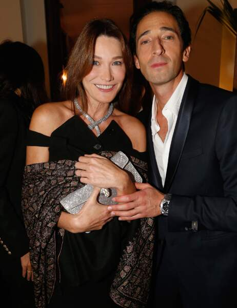 Carla Bruni et Adrian Brody