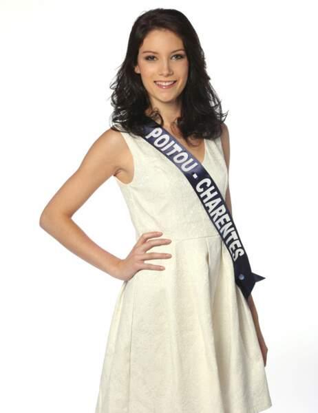 Miss Poitou Charentes - Laura Pierre, 19 ans, 1m74