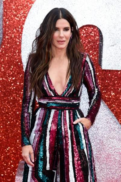 Sandra Bullock à l'avant-première d'Ocean's 8 à Londres