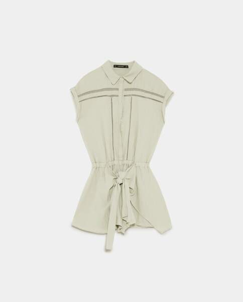 Combinaison portefeuille, Zara, 49,95 euros