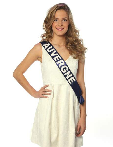 Miss Auvergne - Camille Blond, 18 ans, 1m71