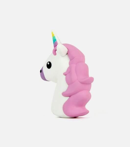 Chargeur externe emoji licorne, L'avant gardiste, 36,95 euros
