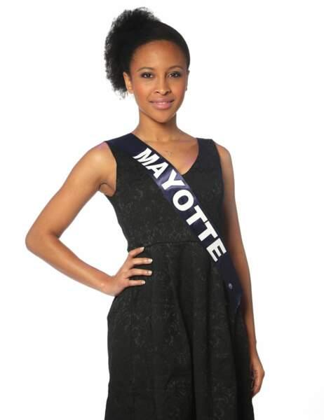 Miss Mayotte - Daniati Yves, 24 ans, 1m70