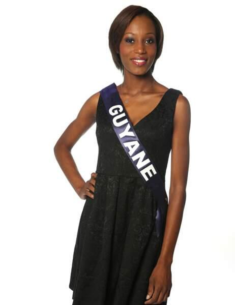 Miss Guyane - Henriette Groneveltd, 21 ans, 1m75