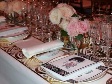 Paillettes et glamour au Bal de la Rose