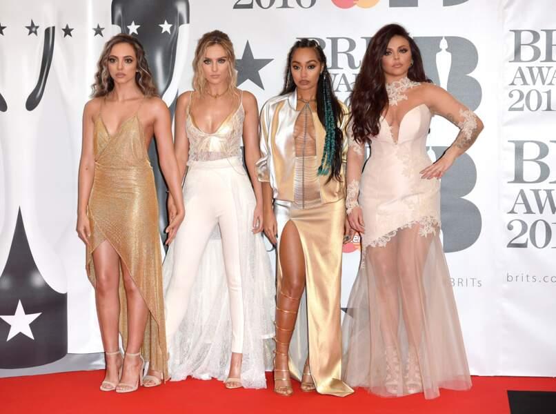 Les très distinguées chanteuses de Little Mix