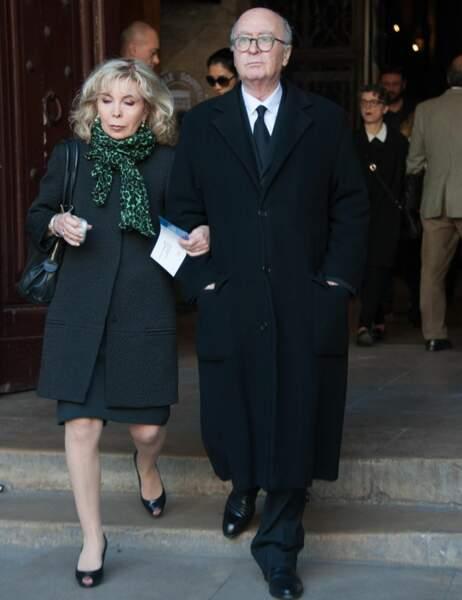 Le dessinateur Georges Wolinsky et son épouse
