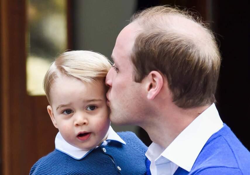 Anniversaire du Prince George - 2 mai 2015 Charlotte vient au monde et George devient grand frère