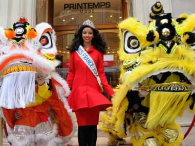 Flora Coquerel et Sylvie Tellier fêtent le Nouvel an chinois