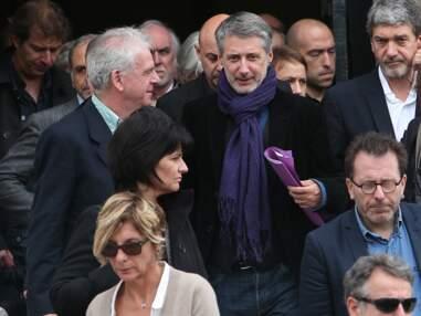 Obsèques de Gilles Verlant : Antoine de Caunes, Nagui, Michel Drucker présents
