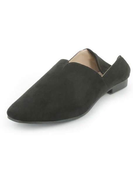 Chaussures type babouche, Kiabi, 6,80 euros au lieu de 17 euros
