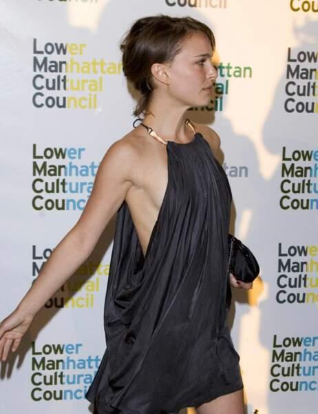 ... la gracile Natalie Portman...