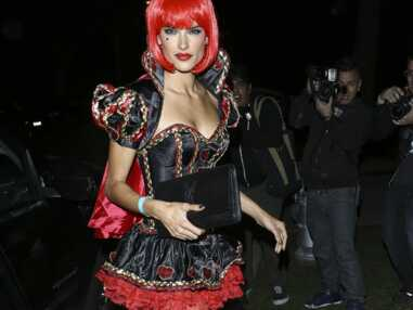 Alessandra Ambrosio en mode super sexy pour Halloween