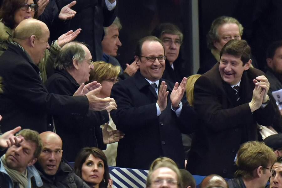 François Hollande n'était pas le seul Hollande au stade...
