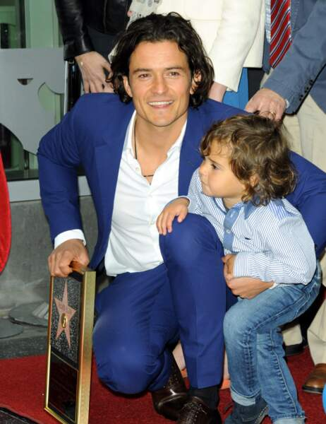 Orlando Bloom et son fils Flynn