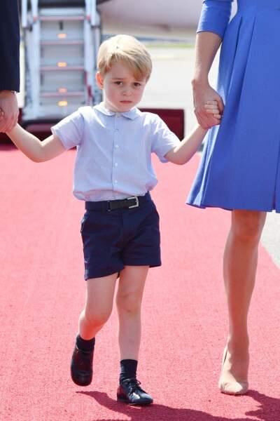 Anniversaire du Prince George - Juin 2017, à Berlin cette fois-ci, toujours aussi peu d'enthousiasme