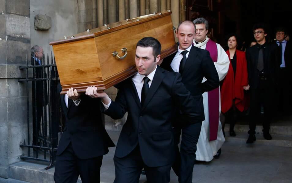 Les obsèques de Régine Deforges