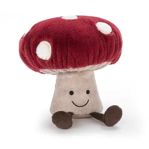 Peluche champignon. 32 €, Jellycat