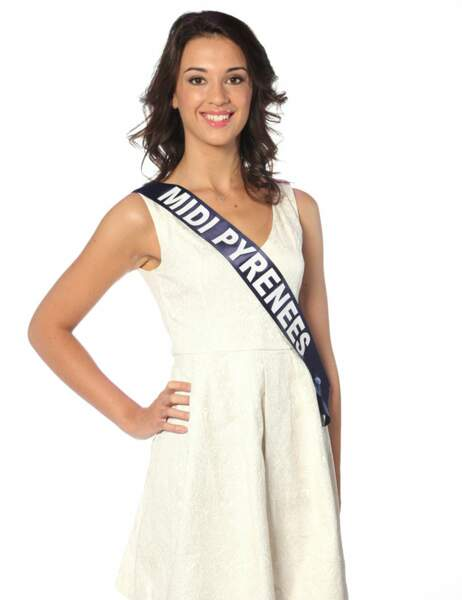Miss Midi-Pyrénées - Audrey Bernes, 20 ans, 1m81