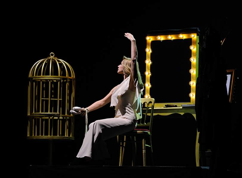 Lara Fabian sur la scène du Théâtre du Châtelet samedi soir