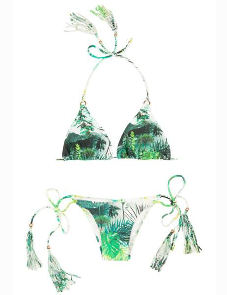 Bikini à pompons, 69,90€ (Blue Man chez Brazilian Bikini Shop)