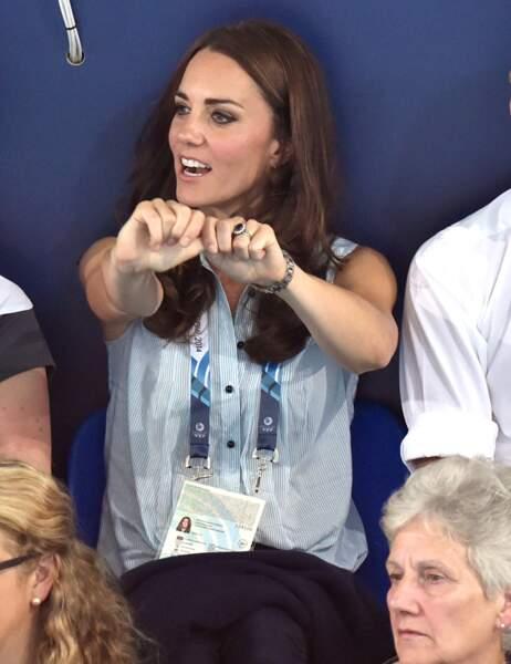 Kate se ferait bien une petite brasse coulée