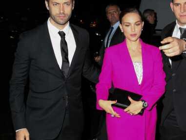 Valérie Trierweiler, Natalie Portman à la soirée Miss Dior