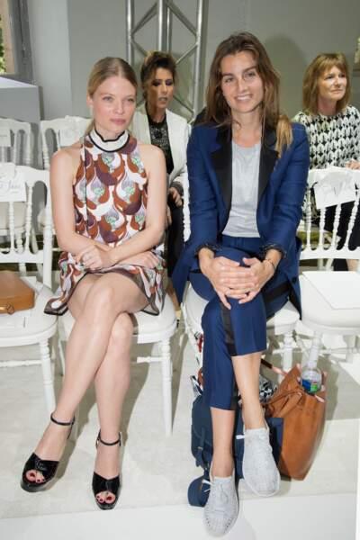 Mélanie Thierry et la photographe française Sonia Sieff