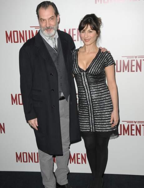 Samuel Labarthe et son épouse