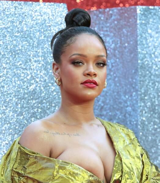 Rihanna à l'avant-première d'Ocean's 8 à Londres